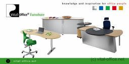 Vital-Office office furniture according to ergonomics and Feng Shui