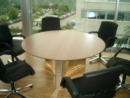 Office Round Tables Canreklonecco - Small round meeting table and chairs