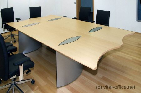 flexi conference tables for exclusive training rooms