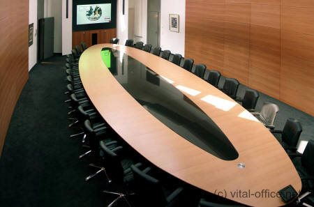 Vital Office Large Conference Tables Sclass Design And Quality - Large oval conference table